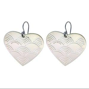 Enigma By Bulgari large heart earrings